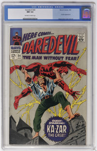 Daredevil #24 (Marvel, 1967) CGC NM 9.4 Off-white to white pages
