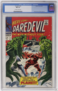 Daredevil #28 (Marvel, 1967) CGC NM 9.4 Off-white to white pages