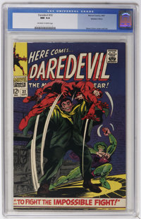 Daredevil #32 Western Penn pedigree (Marvel, 1967) CGC NM 9.4 Off-white to white pages