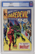 Silver Age (1956-1969):Superhero, Daredevil #34 (Marvel, 1967) CGC NM 9.4 Off-white to white pages....