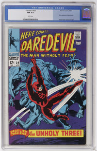 Daredevil #39 (Marvel, 1968) CGC NM 9.4 White pages