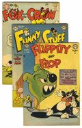 Golden Age (1938-1955):Funny Animal, DC Golden Age Funny Animal Group (DC, 1951-59) Condition: AverageFN-.... (Total: 7)