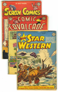DC Golden Age Humor/Adventure Group (DC, 1951-61) Condition: Average GD.... (Total: 13)