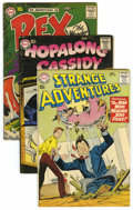 Silver Age (1956-1969):Adventure, DC Silver Age Adventure Group (DC, 1957-59) Condition: Average FN-.... (Total: 4)