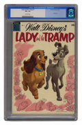Golden Age (1938-1955):Cartoon Character, Dell Giant Comics Lady and the Tramp #1 (Dell, 1955) CGC VG+ 4.5Off-white pages. ...