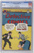 Golden Age (1938-1955):Superhero, Detective Comics #101 (DC, 1945) CGC VF 8.0 Off-white to white pages....