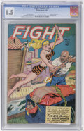 Golden Age (1938-1955):Adventure, Fight Comics #51 (Fiction House, 1947) CGC FN+ 6.5 Cream to off-white pages....