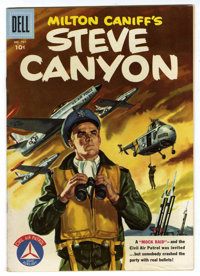 Four Color #737 Steve Canyon File Copy (Dell, 1956) Condition: FN/VF