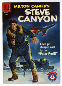Four Color #804 Steve Canyon File Copy (Dell, 1957) Condition: VF