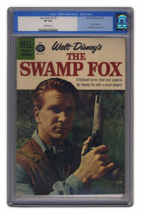 Four Color #1179 The Swamp Fox (Dell, 1961) CGC VF 8.0 Off-white pages