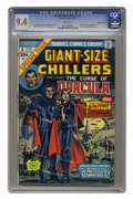 Bronze Age (1970-1979):Horror, Giant-Size Chillers #1 Western Pennsylvania pedigree (Marvel, 1974)CGC NM 9.4 White pages. Origin and first appearance of L...