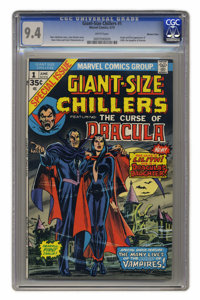 Giant-Size Chillers #1 Western Pennsylvania pedigree (Marvel, 1974) CGC NM 9.4 White pages