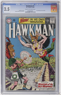 Hawkman #1 (DC, 1964) CGC GD+ 2.5 Cream to off-white pages