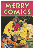 "Golden Age (1938-1955):Miscellaneous, Merry Comics #nn Davis Crippen (""D"" Copy) pedigree (Carlton Publishing, 1945) Condition: VF+...."