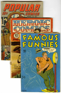 Miscellaneous Golden Age Group (Various Publishers, 1943-46).... (Total: 5)