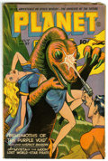Golden Age (1938-1955):Science Fiction, Planet Comics #37 (Fiction House, 1945) Condition: GD/VG....