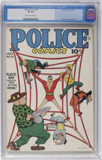 Police Comics #68 (Quality, 1947) CGC VF 8.0 Cream to off-white pages