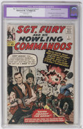 Silver Age (1956-1969):War, Sgt. Fury and His Howling Commandos #1 (Marvel, 1963) CGC Apparent FN- 5.5 Slight (A) Off-white pages....
