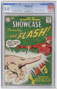 Showcase #8 Flash (DC, 1957) CGC GD/VG 3.0 Cream to off-white pages