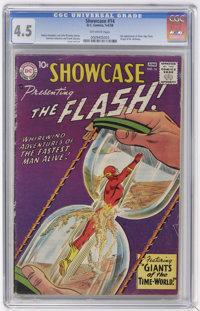 Showcase #14 Flash (DC, 1958) CGC VG+ 4.5 Off-white pages