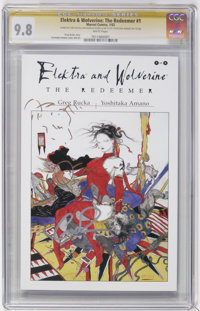 Signature Series Elektra and Wolverine: The Redeemer #1 Group (Marvel, 2002).... (Total: 3)