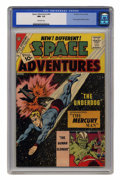 Silver Age (1956-1969):Science Fiction, Space Adventures #44 (Charlton, 1962) CGC NM- 9.2 Off-white pages....