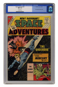 Space Adventures #44 (Charlton, 1962) CGC NM- 9.2 Off-white pages