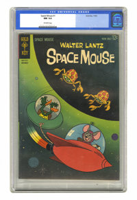 Space Mouse #1 (Gold Key, 1962) CGC NM 9.4 Off-white pages
