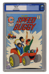 Speed Buggy #1 (Charlton, 1975) CGC NM+ 9.6 Off-white to white pages