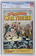 "Golden Age (1938-1955):War, Star Spangled War Stories #12 Davis Crippen (""D"" Copy) pedigree(DC, 1953) CGC VF- 7.5 Cream to off-white pages...."