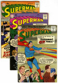 Silver Age (1956-1969):Superhero, Superman Group (DC, 1959) Condition: Average FN.... (Total: 3)