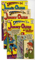 Silver Age (1956-1969):Superhero, Superman's Pal Jimmy Olsen Group (DC, 1958-60) Condition: Average VG/FN.... (Total: 8)