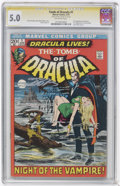 Bronze Age (1970-1979):Horror, Tomb of Dracula #1 and 6 CGC Signature Series Group (Marvel,1972-73).... (Total: 2)