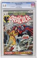 Bronze Age (1970-1979):Horror, Tomb of Dracula CGC Signature Series Group (Marvel, 1973)....(Total: 3)