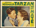 "Movie Posters:Adventure, Tarzan and His Mate (MGM, 1934). Lobby Card (11"" X 14"").Adventure.. ..."