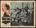 """Movie Posters:War, Passage to Marseille (Warner Brothers, 1944). Lobby Card (11"""" X14""""). War.. ..."""
