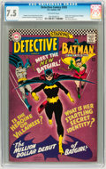 Silver Age (1956-1969):Superhero, Detective Comics #359 (DC, 1967) CGC VF- 7.5 Off-white pages....