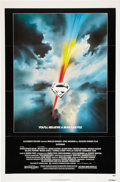 Memorabilia:Poster, Superman Movie Poster Group (Warner Bros., 1978-83).... (Total: 4Items)