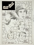 Original Comic Art:Splash Pages, Bobby Sherman Splash page 16 and 17 Original Art (Charlton,1971)....