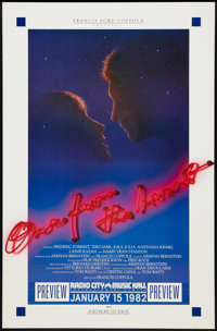 "One from the Heart (Columbia, 1982). Premier Poster (25.75"" X 39.5"") Advance. Romance"
