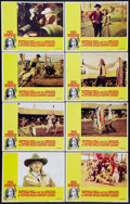 "Movie Posters:Western, Buffalo Bill and the Indians, or Sitting Bull's History Lesson (United Artists, 1976). Lobby Card Set of 8 (11"" X 14""). West... (Total: 8 Items)"