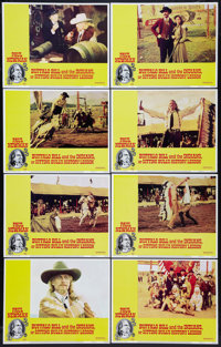 "Buffalo Bill and the Indians, or Sitting Bull's History Lesson (United Artists, 1976). Lobby Card Set of 8 (11"" X 1..."