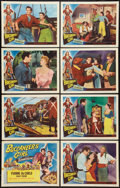 "Movie Posters:Adventure, Buccaneer's Girl (Universal International, 1950). Lobby Card Set of8 (11"" X 14""). Adventure.. ... (Total: 8 Items)"