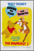 """Movie Posters:Animated, Winnie the Pooh and Tigger Too! (Buena Vista, 1974). One Sheet (27""""X 41""""). Animated.. ..."""