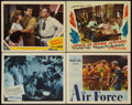 "Movie Posters:War, Hellcats of the Navy Lot (Columbia, 1957). Lobby Cards (4) (11"" X14""). War.. ... (Total: 4 Items)"