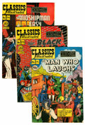 Golden Age (1938-1955):Classics Illustrated, Classics Illustrated First Editions Group (Gilberton, 1949-50)....(Total: 8 Comic Books)