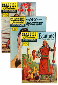 Classics Illustrated Group (Gilberton, 1950s-60s) Condition: Average VG/FN