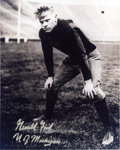 Football Collectibles:Photos, Gerald Ford Signed University of Michigan Photograph....