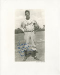 Baseball Collectibles:Photos, Hank Greenberg Signed Original Photograph....