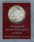 Additional Certified Coins, 1897-S $1 MS63 Uncertified. Ex:The Redfield Collection. (#7250)...